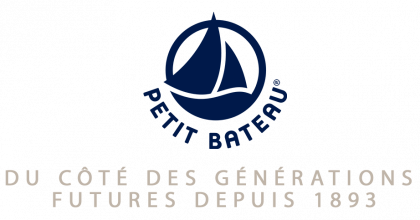 Logo of the French baby clothes brand Petit Bateau