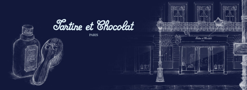 Logo of the French baby clothes brand Tartine et Chocolat