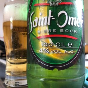 Bière Bock Saint Omer is one of the bestselling French beers