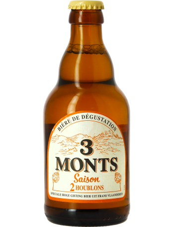 3 Monts, one of the most famous French beers