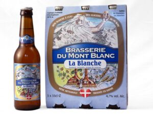 La Blanche, a French beer that won an award in 2016